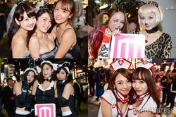 <露出度高め>過激ハロウィンコスで渋谷熱狂