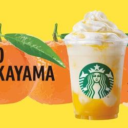 WAKAYAM「和歌山 つれもてのもら みかんシトラス フラペチーノ」/画像提供:スターバックス コーヒー ジャパン
