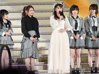 AKB48小嶋真子、卒業セレモニーで涙のスピーチ「そういうのはAKB48グループではあってほしくない」西野未姫登場で「てんとうむChu!」も復活