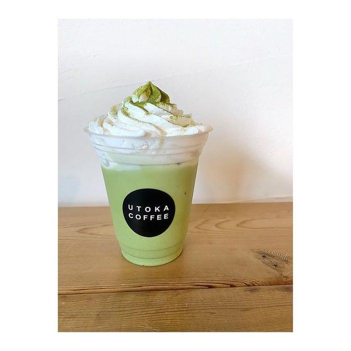 アイス抹茶オレ/画像提供:UTOKA COFFEE