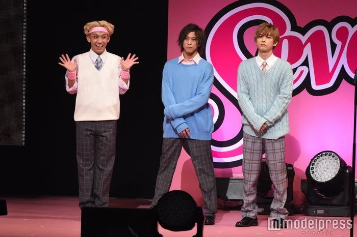 誠実男子チーム(左から)りゅうちぇる、佐野岳、吉沢亮(C)モデルプレス