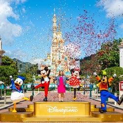 香港ディズニーランドが営業再開 事前予約制&待ち列のソーシャルディスタンス確保