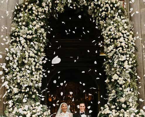 ジャスミン・トゥークス、スナップチャットの役員ジュアン・デヴィッド・ボレロと結婚。