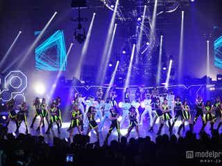 E-girls、「MTV VMAJ」で初受賞「先輩の前でいただけて光栄」