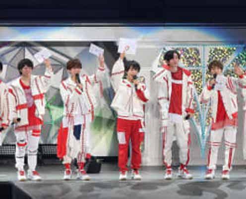 なにわ男子11.12にCDデビュー 公演中サプライズ発表でメンバー号泣
