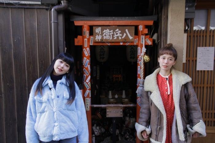 (左から)菅沼ゆり、柴田紗希(写真提供:MBS)