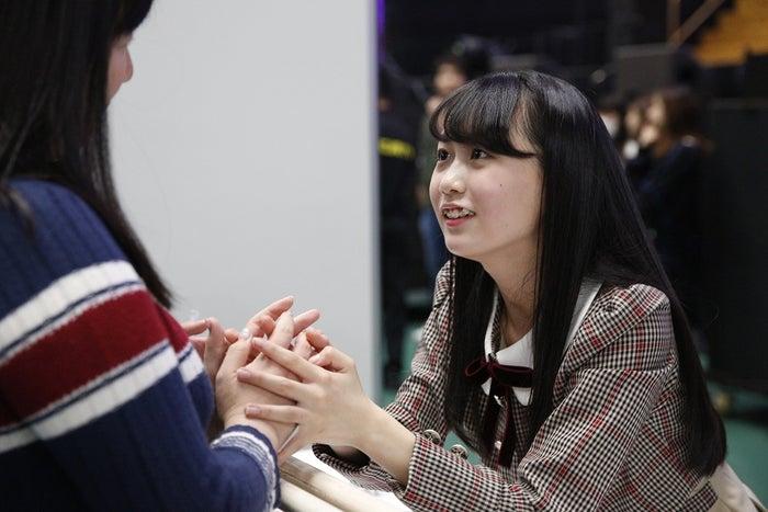 """矢久保美緒/乃木坂46""""4期生お見立て会""""(提供写真)"""