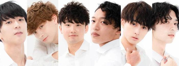 『Mr&Miss Campus KANDAI 2020』ファイナリスト(左から)久保田湧、マトバマテウス学、山本大雅、津田泰志、濱本真矢(提供写真)