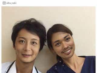 """相武紗季「とにかく濃い顔」に変身 小林且弥と""""顔交換""""で「結局美男美女」の声"""