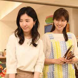 吉高由里子、内田有紀/「わたし、定時で帰ります。」第8話より(C)TBS