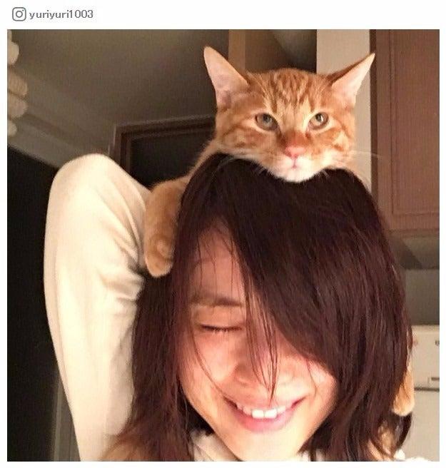 石田ゆり子のインスタが癒される 4匹の犬猫と暮らすプライベート「僕はもうどうしたらいいのかわからない」シリーズが可愛すぎ/Instagramより
