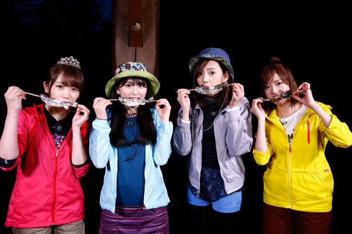 秋元真夏、大園桃子、新内眞衣、和田まあや (C)「NOGIBINGO!10」製作委員会