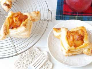 お菓子作り初心者さんも簡単にできる!冷凍パイシートで作る2種の可愛いアップルパイ