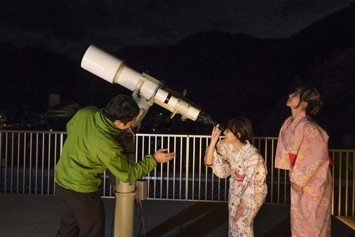 月と星のテラス/画像提供:一般財団法人休暇村協会