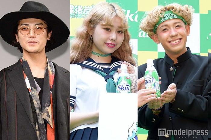 6月5日に一番読まれたニュースは?(左から)赤西仁、ぺこ&りゅうちぇる(C)モデルプレス