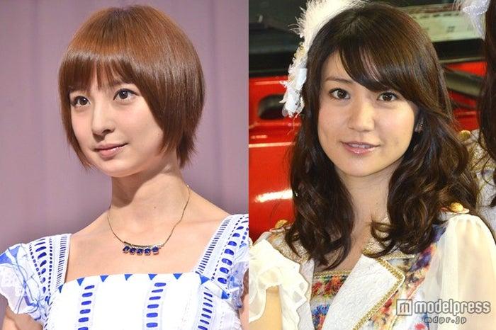 (左より)篠田麻里子、大島優子