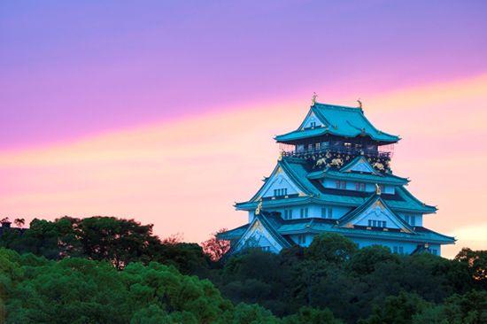 大阪城/画像提供:阪急交通社