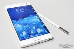 エッジスクリーン×Sペンでサクサク操作&かわいいデコも可能に