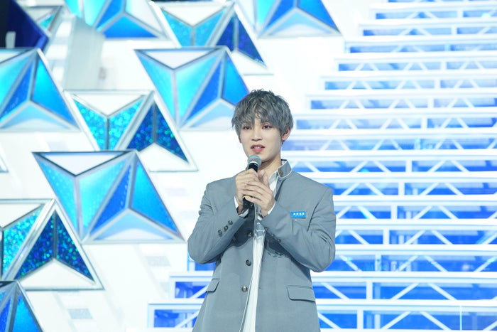 與那城奨「PRODUCE 101 JAPAN」最終回(C)LAPONE ENTERTAINMENT