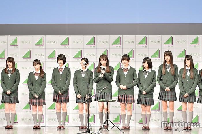欅坂46/最年長・渡辺梨加が最初に挨拶
