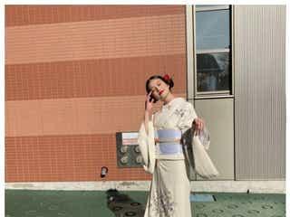 今田美桜、白着物姿に絶賛の声続出「これぞ大和撫子」「見惚れる」