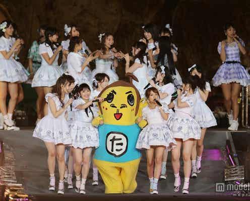 AKB48初の国立に岡村隆史乱入 大島優子「意味わかんなくてびっくりした」