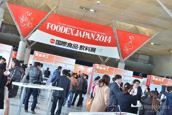 「FOODEX JAPAN 2014」の様子