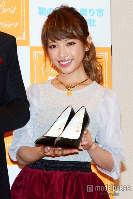 「第5回シューズベストドレッサー」特別賞を受賞した、くみっきー