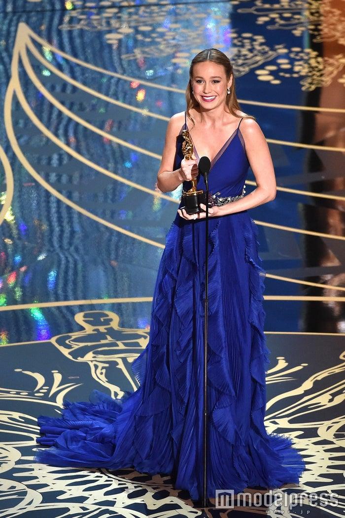 主演女優賞を受賞したブリー・ラーソン/photo:Getty Images