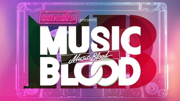 「MUSIC BLOOD」ロゴ(提供写真)