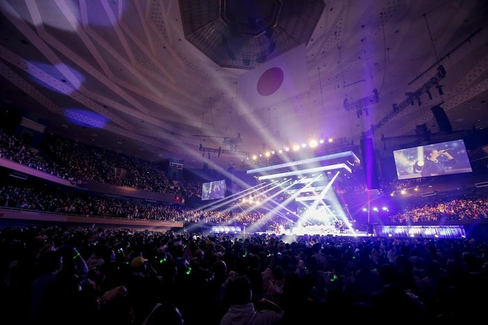 「Little Glee Monster Live in BUDOKAN 2019~Calling Over!!!!!」2月5日公演/Photo by:キセキミチコ