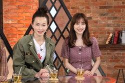 (左から)長谷川京子、田中みな実(写真提供:カンテレ)