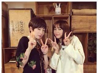 桐谷美玲「今年1緊張したかも」椎名林檎と2ショット 小顔ぶりに注目集まる