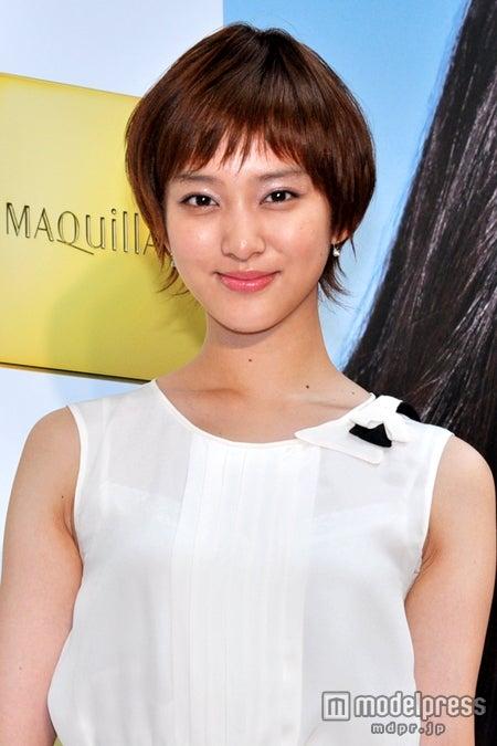 資生堂マキアージュ2012AM「Studio MAQuiiAGE」オープニングイベントに出席した武井咲