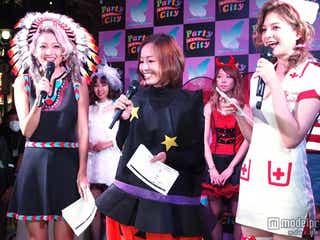 小森純&なつぅみ&瑛茉ジャスミン、ハロウィーンナイトに降臨 個性派揃いのコスに熱視線