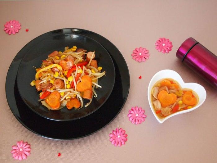 「野菜炒め → 野菜スープ」