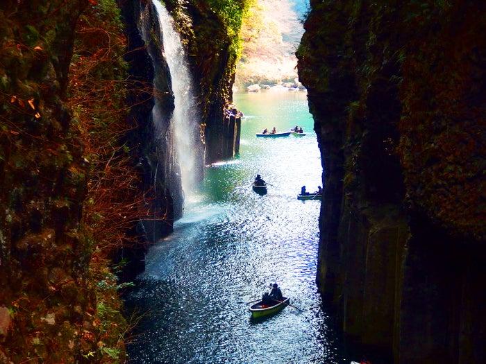 高千穂峡(提供写真)