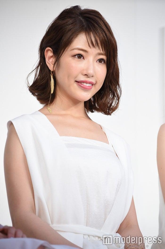 """""""くみっきー""""こと舟山久美子 (C)モデルプレス"""