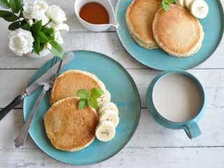 卵&乳製品を使ってないのにふわっと美味しい!「ヴィーガンパンケーキ」の作り方