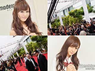 関東一可愛い女子高生がエミー賞レッドカーペットへ 日本を発つ