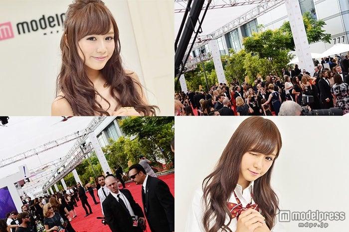 関東一可愛い女子高生がエミー賞レッドカーペットへ 日本を発つ【モデルプレス】