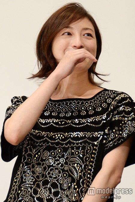 感激で涙を流す広末涼子【モデルプレス】