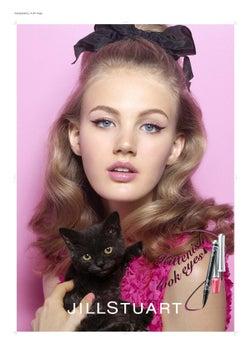 【ジルスチュアート】子猫みたいに愛らしく!アイライナーで描く魅惑の瞳に釘付け/画像提供:JILL STUART BEAUTY