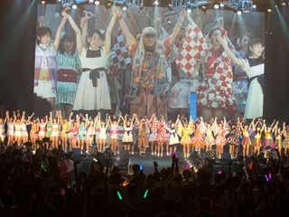 TRFのDJ KOOが総勢78人のアイドルと「survival dAnce」でコラボ!ステージで自撮りも!?
