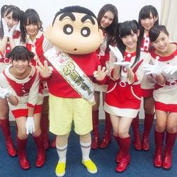 AKB48派生ユニット・渡り廊下走り隊7、「クレヨンしんちゃん」の主題歌に抜擢