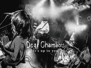 Dear Chambers、「Strikes Back TOUR 2020 FINAL」のゲストバンド発表