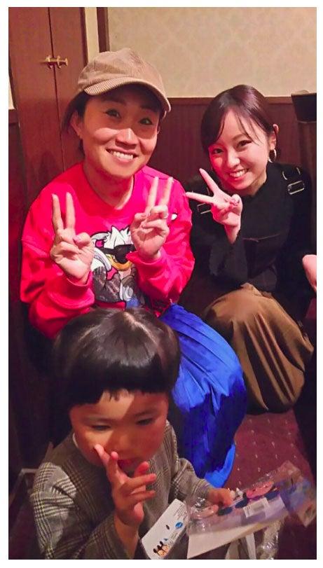 キンタローが今泉佑唯と撮った写真/キンタロー。オフィシャルブログ(Ameba)より