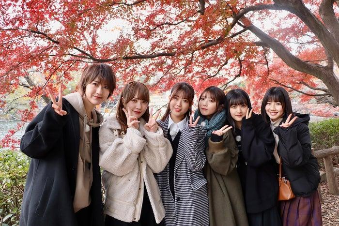 (左から)土生瑞穂、加藤史帆、岩本蓮加、与田祐希、原田葵、渡邉美穂(C)NHK