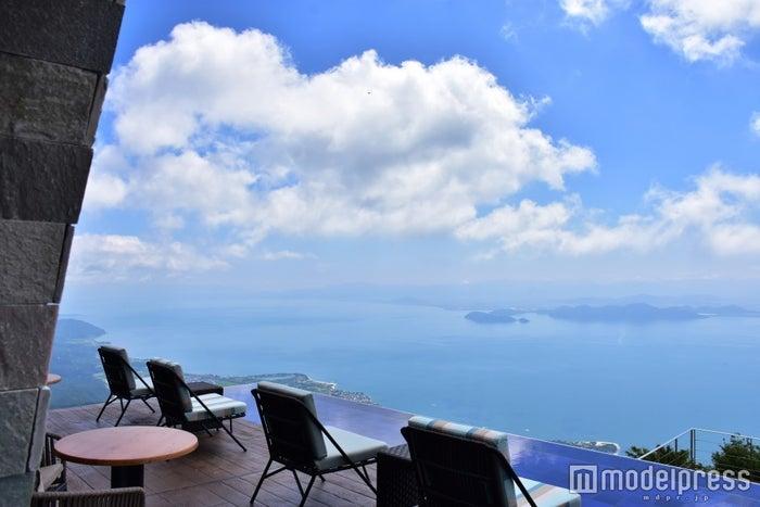 天空の絶景「びわ湖テラス」がまるで別世界!滋賀の新名所に注目/画像提供:びわ湖バレイ