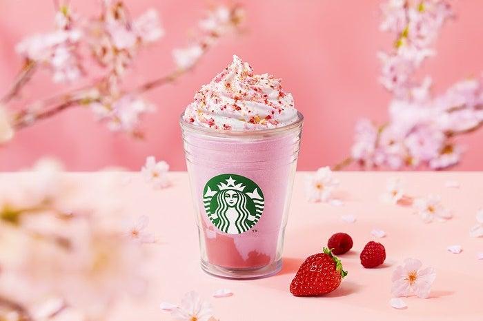 さくら咲いた ベリー フラペチーノ/画像提供:スターバックス コーヒー ジャパン